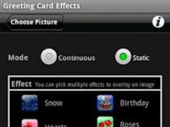 Greeting Card Effects 1.0 Screenshot