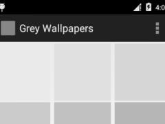 Grey Wallpapers 1.0 Screenshot