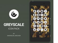Greyscale - Icon Pack 1.0.3.1 Screenshot