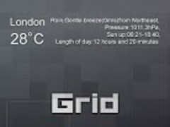 Grid GO Launcher EX Theme  Screenshot