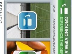 Ground View App 1.0 Screenshot