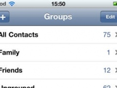 Group Contacts 1.1 Screenshot