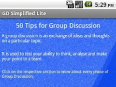 Group Discussion Simplified-L 6.0 Screenshot