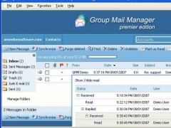 Group Mail Manager Professional 2.2.33 Screenshot