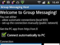 Group Messaging 1.7 Screenshot