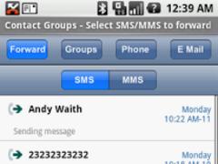 Group SMS&MMS + Forward/Twitt 2.0.3 Screenshot