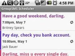 Group SMS Scheduler 1.5.7 Screenshot