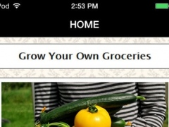 Grow Your Own Groceries for Beginners - Reduce Your Grocery Bill For a Lifetime 1.0 Screenshot