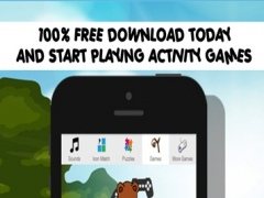 Growling Bear Games for Little Kids - Fun Puzzles and Sounds 1.0 Screenshot
