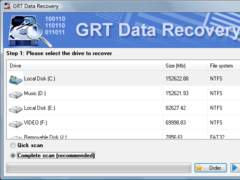 GRT Recover FAT 2.6 Screenshot