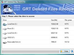 GRT NTFS Undelete 2.6 Screenshot