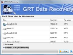 GRT Recover FAT 2.6 Screenshot