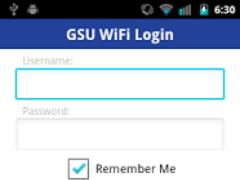 GSU WiFi Login 1.0.6 Screenshot
