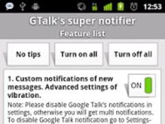 GTalk's super notifier (TRIAL) 0.12 Screenshot