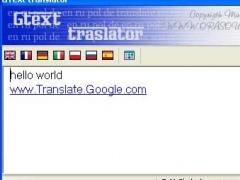 GText translator 1.0 Screenshot