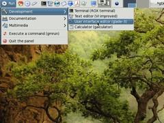 Gtk+2 panel  Screenshot