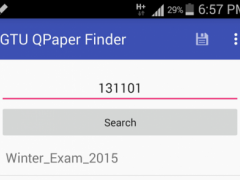 GTU QPaper Finder 2.0 Screenshot