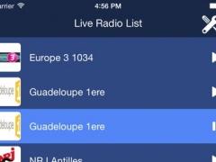 Guadeloupe Radio Live! 1.0 Screenshot