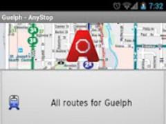 Guelph Transit: AnyStop 3.4.4 Screenshot