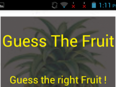 Guess The Fruits 1.0 Screenshot