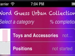 Guess Word Urban Collection 1.2 Screenshot