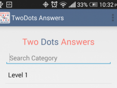 Guide & Answers of Two Dots 1.0 Screenshot