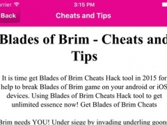 Guide For Blades of Brim(Unofficial) 1.0 Screenshot