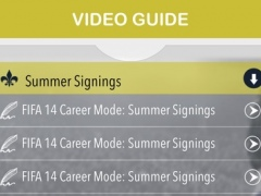 Guide for FIFA 14 - Cheats, Trophies, Teams & players 1.0 Screenshot