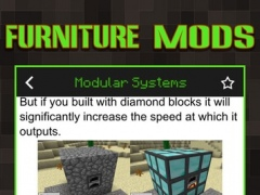 Guide for Furniture Mod Pro - Game Tool Free Download