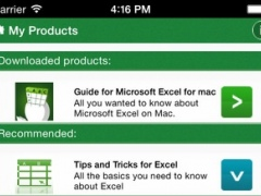 Guide for Microsoft Excel for Mac 1.0 Screenshot