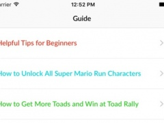 Guide for Super Mario Run - Cheats & Walkthrough 1.0 Screenshot