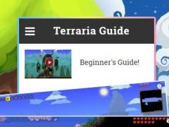 Guide for Terraria - Video,tips 1.0 Screenshot