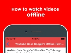Guide for Youtube Go - Learn Offline Free Download