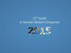 Guide to German Biotech Companies 2015 1.0 Screenshot