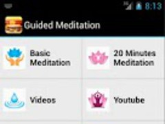 Guided Meditation Free App 1.0 Screenshot