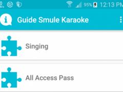 Guides for smule video karaoke 1.2 Screenshot