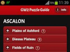 Guild Wars 2 Puzzle Guide 1.1 Screenshot