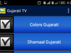 Gujarati TV Channels 1.0 Screenshot
