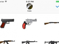 Gunmoji - Weapons & Ammo Stickers 1.0.1 Screenshot