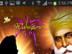Guru Nanak Magic Touch LWP 1.0 Screenshot