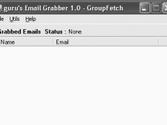 guru's Email Grabber 1.0 Screenshot
