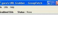 guru's URL Grabber 1.0 Screenshot