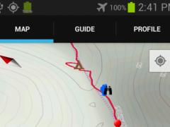 Guthook's TRT Guide 3.1.0 Screenshot