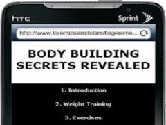 Gym Body Building Tips 0.1 Screenshot