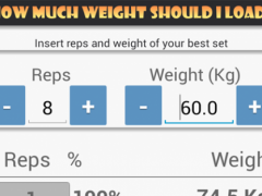 Gymme One Rep Maximals 14.119 Screenshot