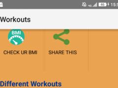 GymWorkoutTrainer 1.0 Screenshot
