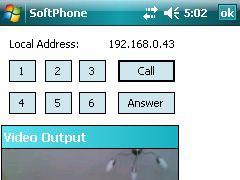 H.323/SIP/IAX VideoPhone 1.6 Screenshot