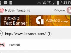 Habari - Tanzania 1 Screenshot