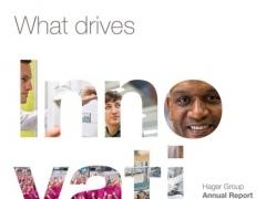 Hager Group Annual Report 2013 1.0.0 Screenshot