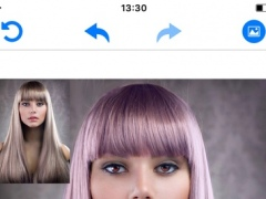 Hair Color Change.r - Hair Styles Salon & Recolor Booth Editor For My Dye & Haircuts 1.1.2 Screenshot
